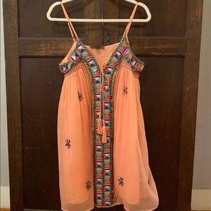 Boston Proper Embellished Tank Dress